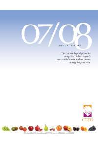 2007 / 08 ANNUAL REPORT
